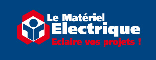 Logo Materiel Electrique Bleu