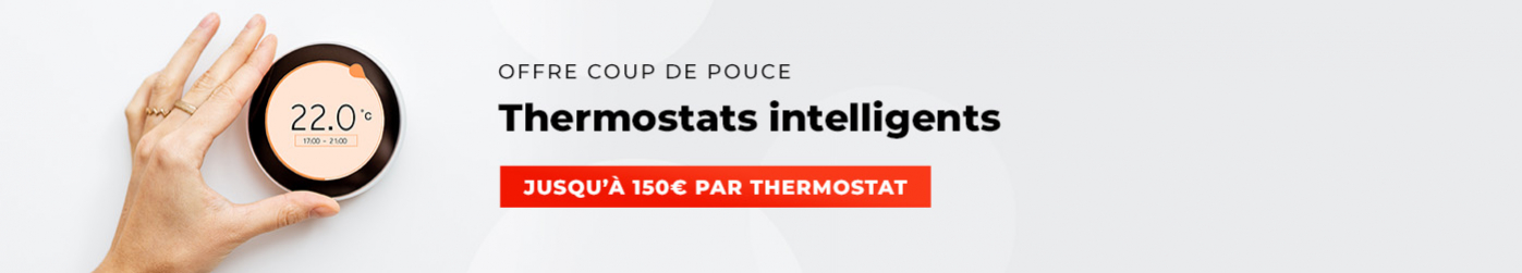 Coup de pouce thermostats à régulation performante