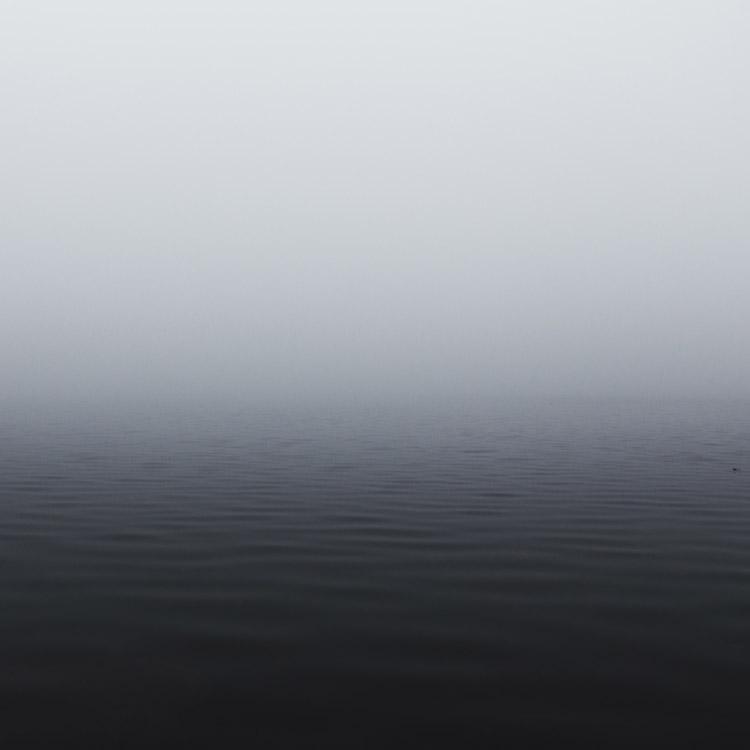 Brouillard sur la mer