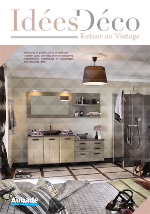 Idée déco : salle de bain vintage | Espace Aubade