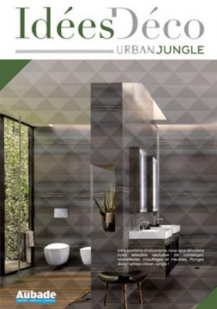 Salle de bains style urbain et exotique urban jungle for Salle de bain jungle