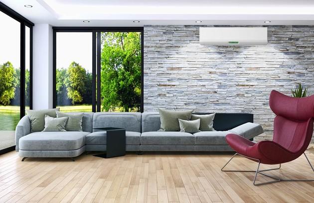 unité de climatisation murale de la pièce à vivre