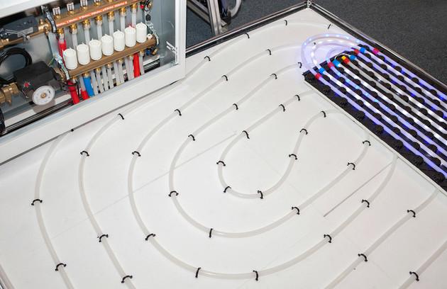 réglage température plancher chauffant
