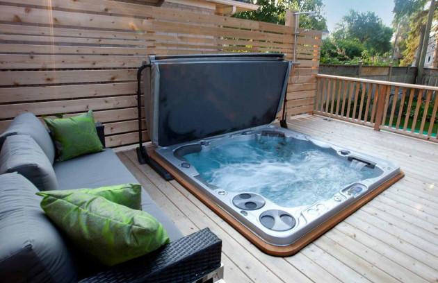 Quels sont les différents types de spa? - Le spa encastrable