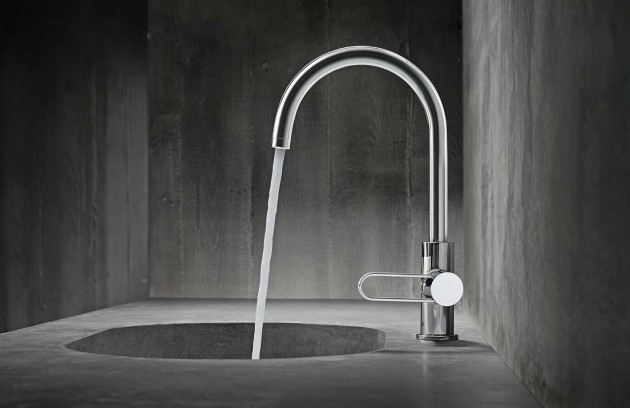 Choisir un robinet pour son lavabo ou sa vasque - Le mitigeur thermostatique