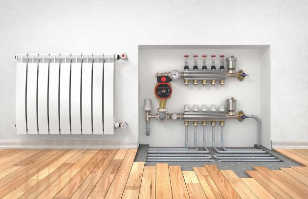 Plancher chauffant électrique