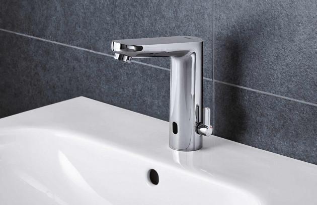 Choisir un robinet pour son lavabo ou sa vasque - Le mitigeur infrarouge