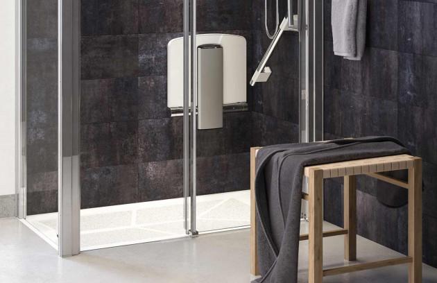 Régler la hauteur de la douche