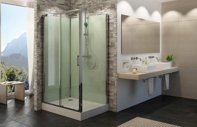 La douche multifonction - De nombreuses options vous séduiront également