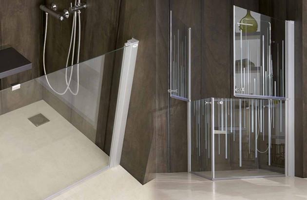 Les zones de transfert dans une salle de bains pour handicapés