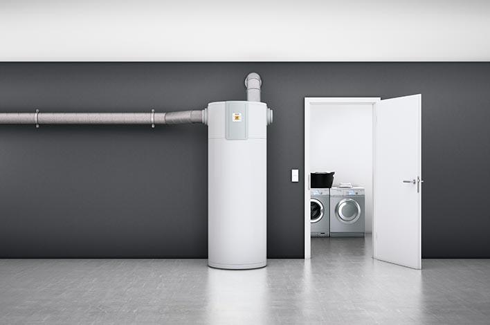 installation d'un chauffe-eau thermodynamique