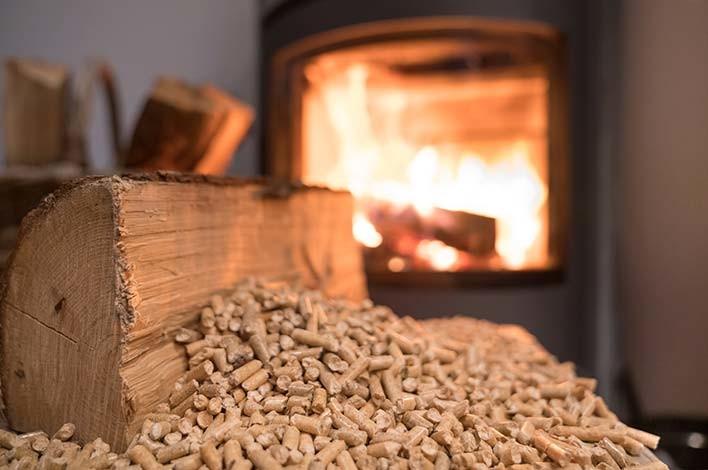 poêle mixte bois et granulés