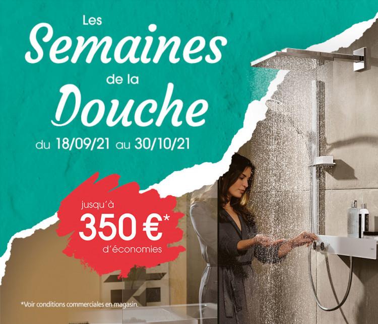 visuel promotionnel des semaines de la douche