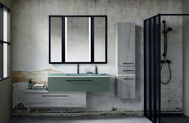 meuble salle de bains contemporain