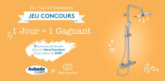 Jeu Concours: 10 colonnes de douche Ideal Standard à gagner