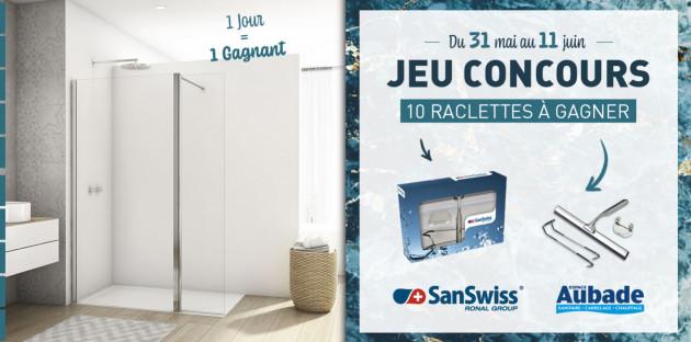 Jeu Concours SanSwiss: raclette parois de douche