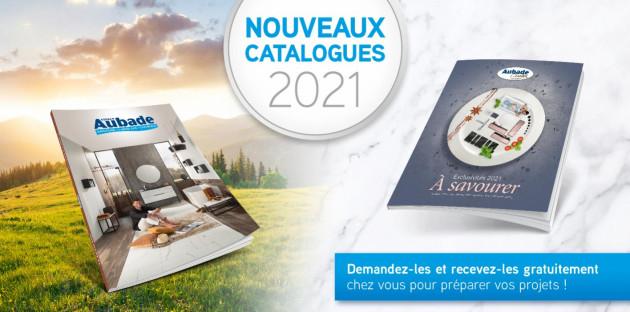 Sortie nouveaux catalogues 2021
