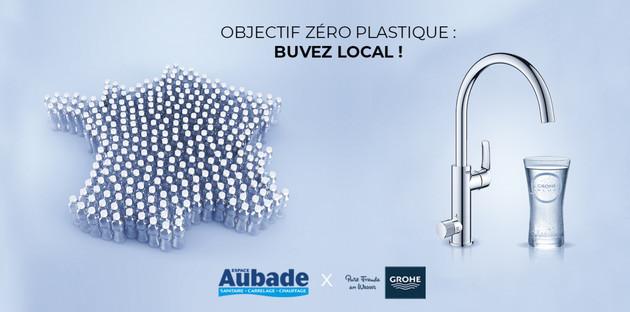 Objectif zéro plastique avec GROHE BLUE PURE