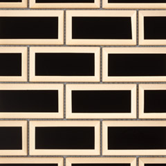 Carrelage Bel Air par Barwolf en coloris Black Gold Brick