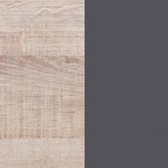 couleur chêne / couleur grise anthracite