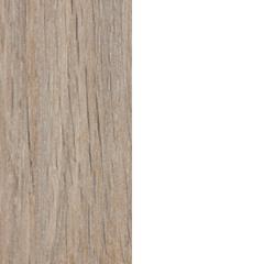 couleur chêne et couleur blanche