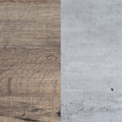 couleur béton et couleur bois