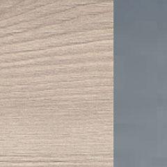 Coloris chêne flanelle avec chant et poignée platine