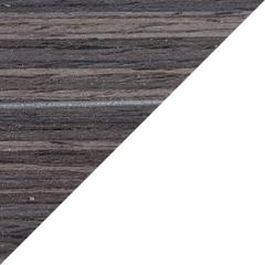 Coloris Zébrano gris / Blanc mat