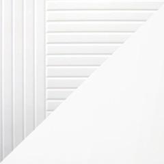 Coloris ligne et corps de meuble blanc satiné
