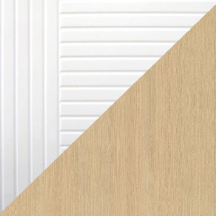 Coloris Ligne et corps de meuble chêne doré structuré