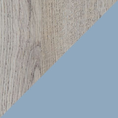 Coloris chêne alabama et laque aigue-marine