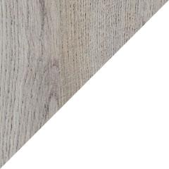 Coloris chêne alabama et laque blanc