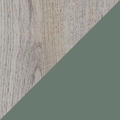 Coloris chêne alabama et laque eucalyptus