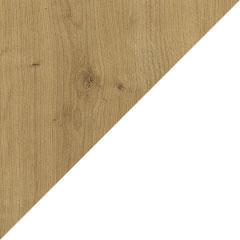 Coloris chêne arlington et laque blanc