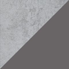 Coloris Béton gris et Gris anthracite brillant