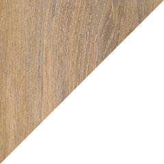 Coloris Chêne québec et Blanc brillant
