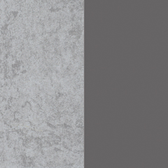 couleur gris anthracite et béton