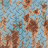 Carrelage Inspiration Métal par BatiOrient en Bleu