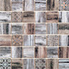 Mosaïque Patchwork par Bati-Orient en coloris Bois Noir