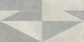 Décor Provenza Eureka Bianco & Grigio Intarsio