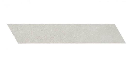 Décor Ceramiche Piemme Uniquestone Silver Chevron Gauche