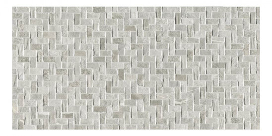 Décor Ceramiche Piemme Uniquestone Titanium & Silve Weave