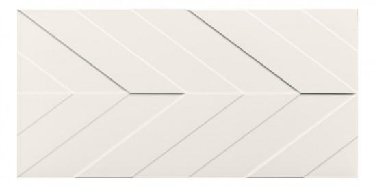 40x80<br>Chevron White