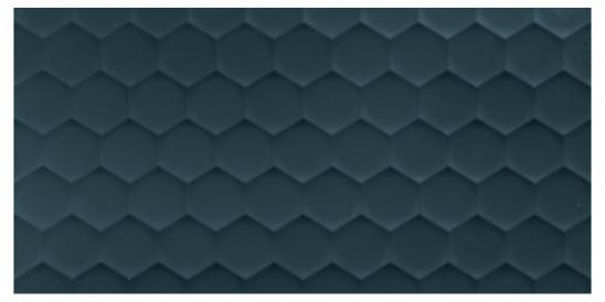 40x80<br>Hexagon Deep Blue