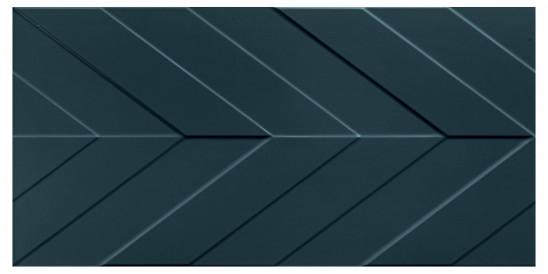 40x80<br>Chevron Deep Blue