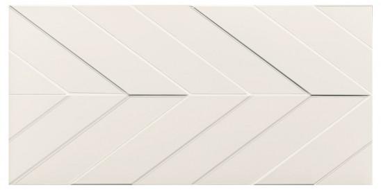 40x80<br>Chevron White Decor