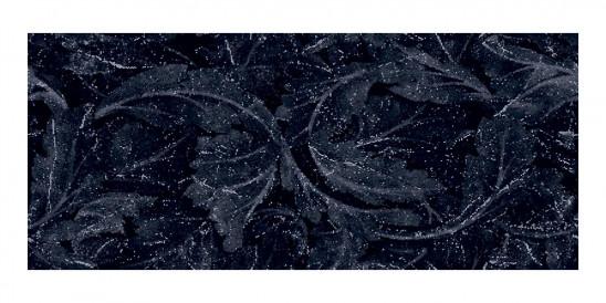 Décor Emil Ceramica Tele di Marmo Revolution Calcatta Black Acanto