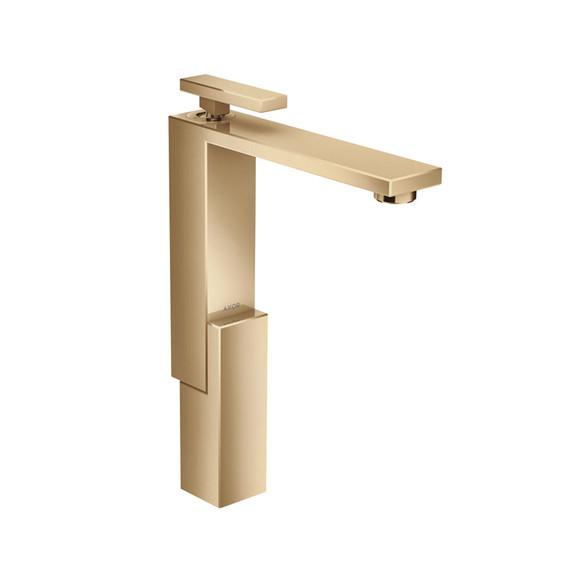 Collection de mitigeurs de lavabo Edge - Bronze Poli