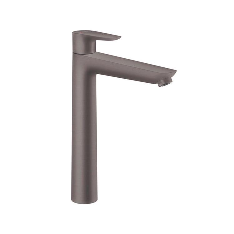 Collection de robinets Talis E FinishPlus Hansgrohe Noir Brossé Chrome