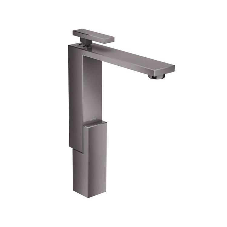 Collection de mitigeurs de lavabo Edge - Chrome Noir Poli